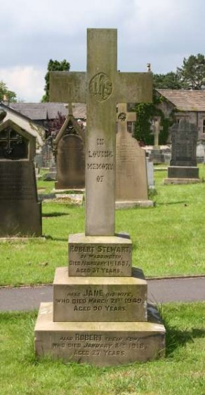 St Helen's Churchyard, Waddington, Yorkshire