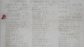 Tyne Cot Memorial - detail