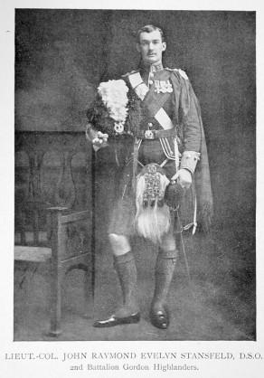 Lieut.-Col. John Raymond Evelyn Stansfeld, D.S.O.