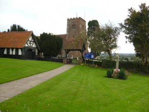 The Parish Church of St Margaret and the War Memorial, Downham, Essex