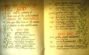 (2) St Wilfred's Church: Book of Remembrance