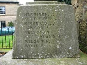 (1) War Memorial: detail no 1
