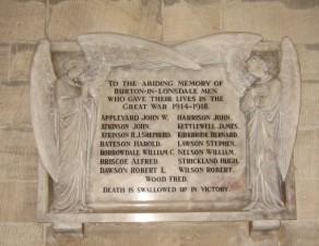 (2a) All Saint's Church: marble memorial tablet