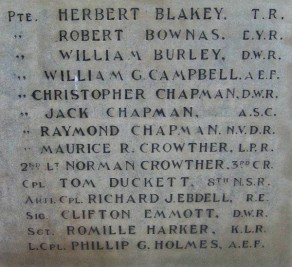 (1) War Memorial - detail no 1