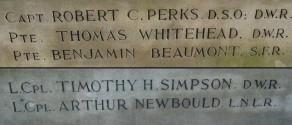 (1) War Memorial - detail no 3