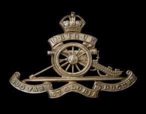 Regiment / Corps / Service Badge: Royal Field Artillery