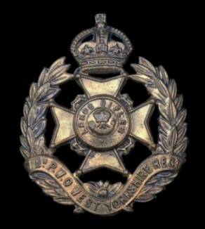Regiment / Corps / Service Badge: Prince of Wales's Own (West Yorkshire Regiment)