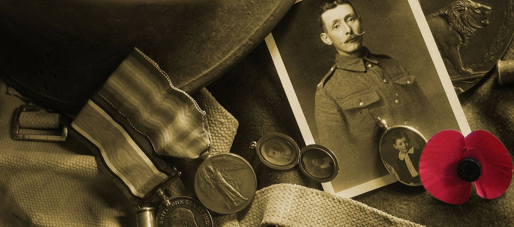 Craven's Part In The Great War Soldier Records