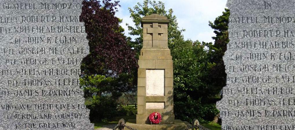 Craven's Part In The Great War - War Memorials